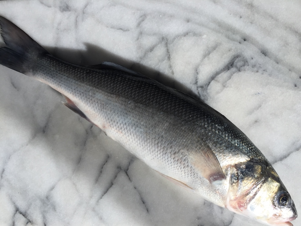 Large Sea Bass Wild-only Available This Week(not Available For Delivery After 18th December)